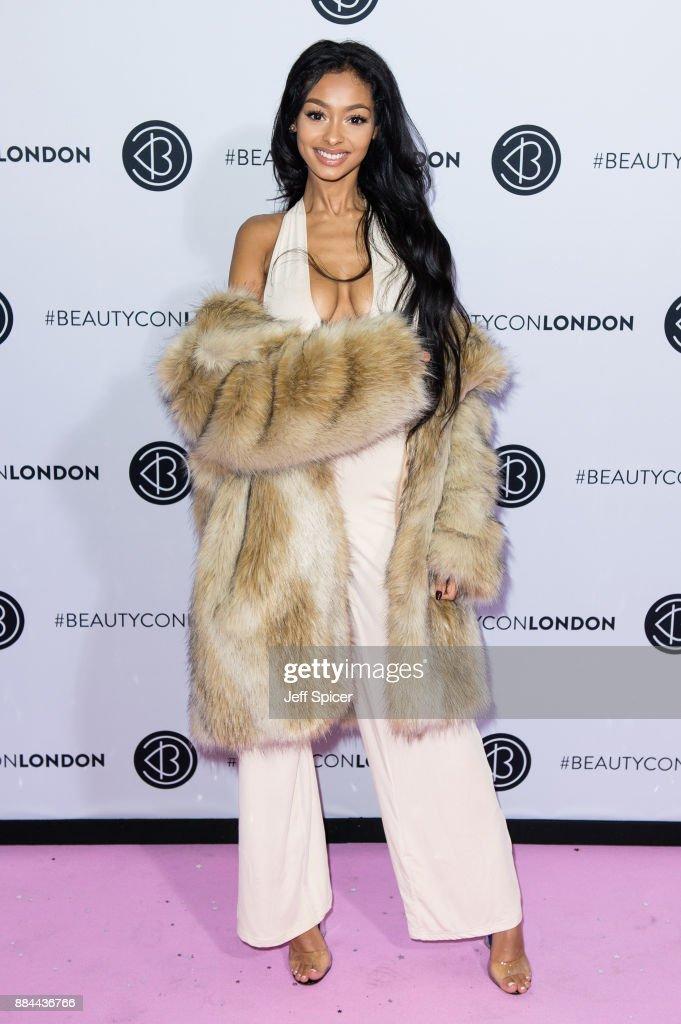 Jayde Pierce attends Beautycon Festival 2017 at Olympia London on December 2, 2017 in London, England.