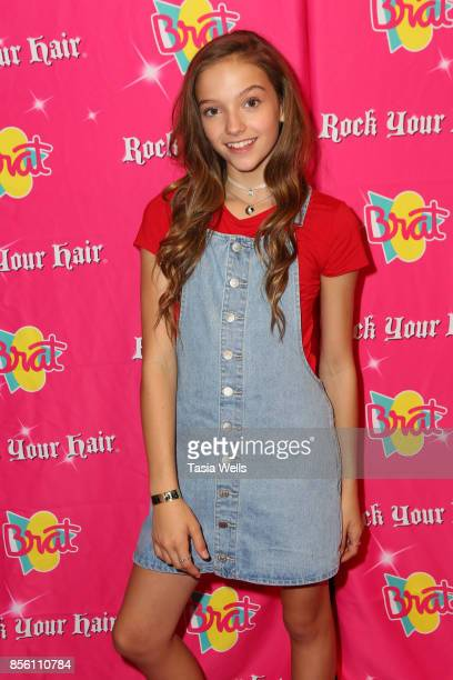 Jayden Bartels at Rock Your Hair Presents Rock Back to School concert and party on September 30 2017 in Los Angeles California