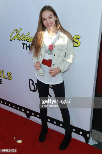 Jayden Bartels attends GenZ Studio Brat's Premiere Of Chicken Girls at Ahrya Fine Arts Theater on June 28 2018 in Beverly Hills California