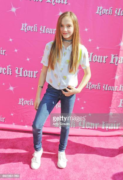 Jayden Bartels attends Rock Your Hair presents 'Rock Your Summer' party and concert on June 3 2017 in Los Angeles California