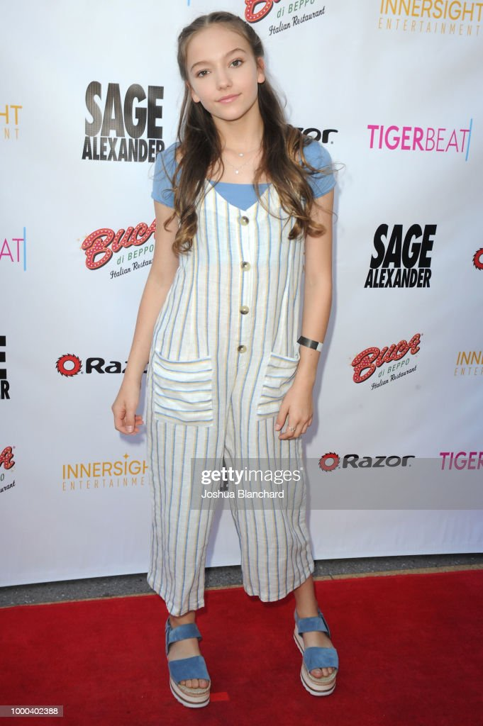 """""""Sage Alexander: The Dark Realm"""" Launch Party Co-hosted by Innersight Entertainment and TigerBeat Media : News Photo"""
