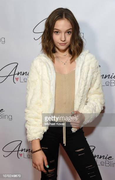Jayden Bartels attends the Annie LeBling presents Annie LeBlanc Performance Pop Up Shop on December 8 2018 in Los Angeles California