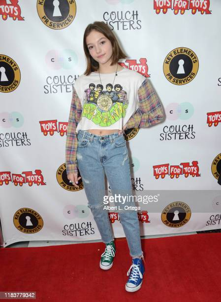 Jayden Bartels attends The Couch Sisters 1st Annual Toys For Tots Toy Drive held onNovember 20 2019 in Glendale California