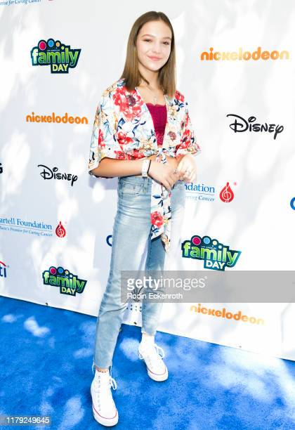Jayden Bartels attends TJ Martell Foundation's 10th Annual LA Family Day at The Grove on October 05 2019 in Los Angeles California