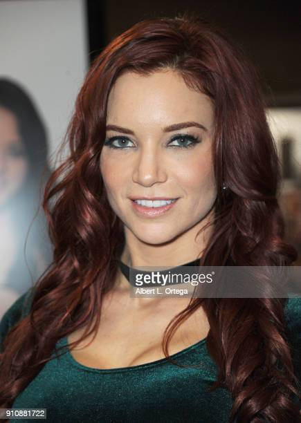 Jayden Cole attends the 2018 AVN Adult Entertainment Expo at the Hard Rock Hotel Casino on January 26 2018 in Las Vegas Nevada