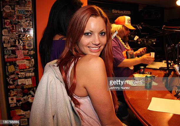 Jayden Cole visits The Whoolywood Shuffle at SiriusXM Studio on October 19 2011 in New York City