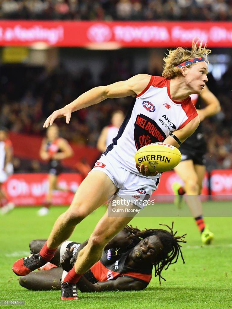 AFL Rd 6 - Essendon v Melbourne : News Photo