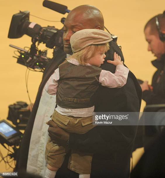 """Jayden James Federline attends Britney Spears performance on ABC's """"Good Morning America"""" at The Big Apple Circus Tent at Lincoln Center on December..."""