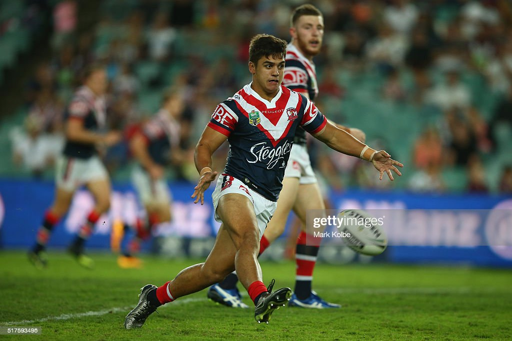 NRL Rd 4 - Roosters v Sea Eagles : News Photo