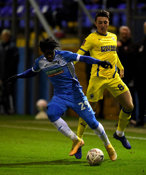 GBR: Barrow v AFC Wimbledon - FA Cup First Round