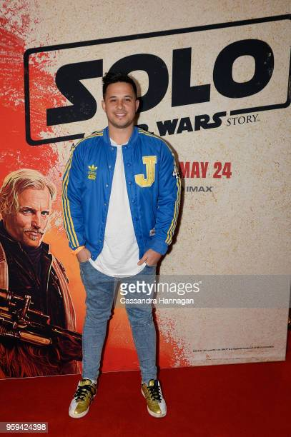 Jayden Rodrigues attends the Solo A Star Wars Story Screening on May 17 2018 in Sydney Australia