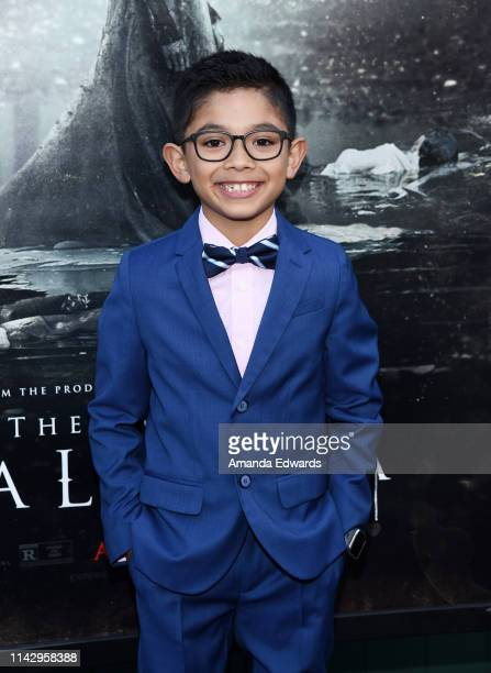 Jayden Valdivia arrives at the premiere of Warner Bros' The Curse Of La Llorona at the Egyptian Theatre on April 15 2019 in Hollywood California