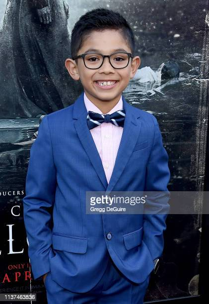 Jayden Valdivia attends the Premiere Of Warner Bros' The Curse Of La Llorona at the Egyptian Theatre on April 15 2019 in Hollywood California