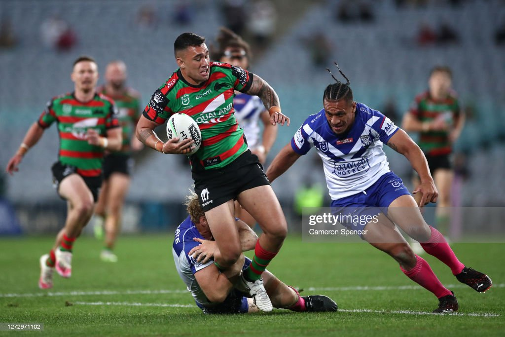 NRL Rd 19 - Rabbitohs v Bulldogs : News Photo