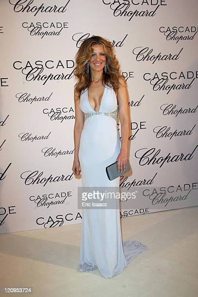 Jaydy Mitchell attends at Chopard Belle Du Nuit Dinner during the 62nd International Cannes Film Festival on May 13 2009 in Cannes France