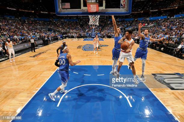Jaylen Adams of the Atlanta Hawks shoots the ball against the Orlando Magic on April 5 2019 at Amway Center in Orlando Florida NOTE TO USER User...