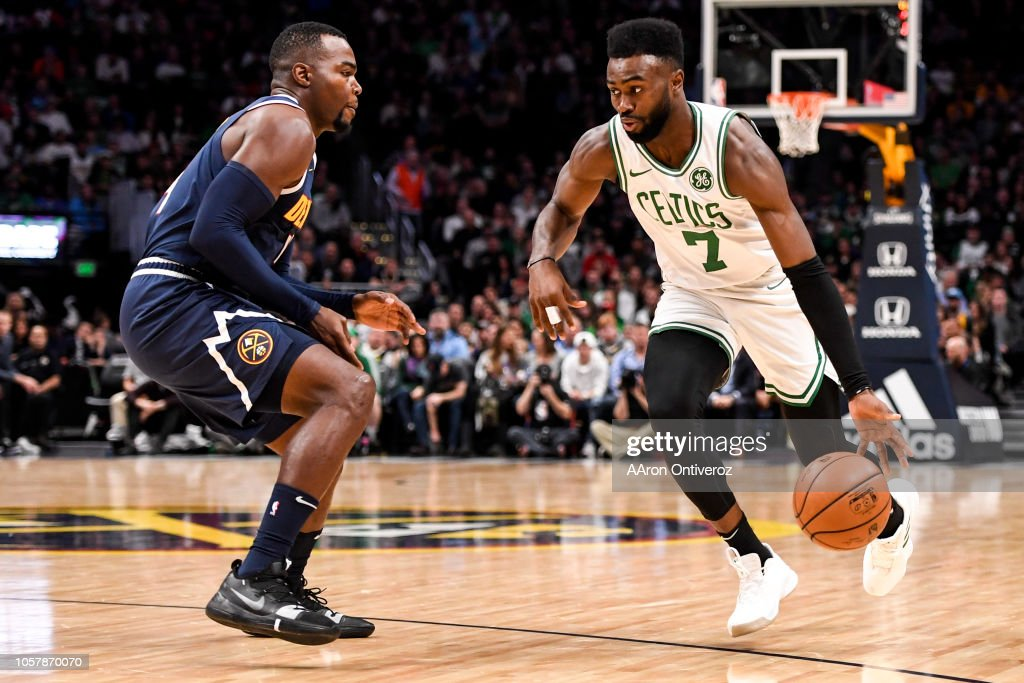 DENVER NUGGETS VS BOSTON CELTICS, NBA : News Photo