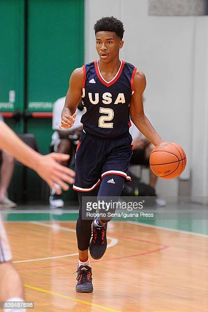 Jaylen Hands of Team USA during Adidas Eurocamp Day One at La Ghirada sports center on June 10 2016 in Treviso Italy