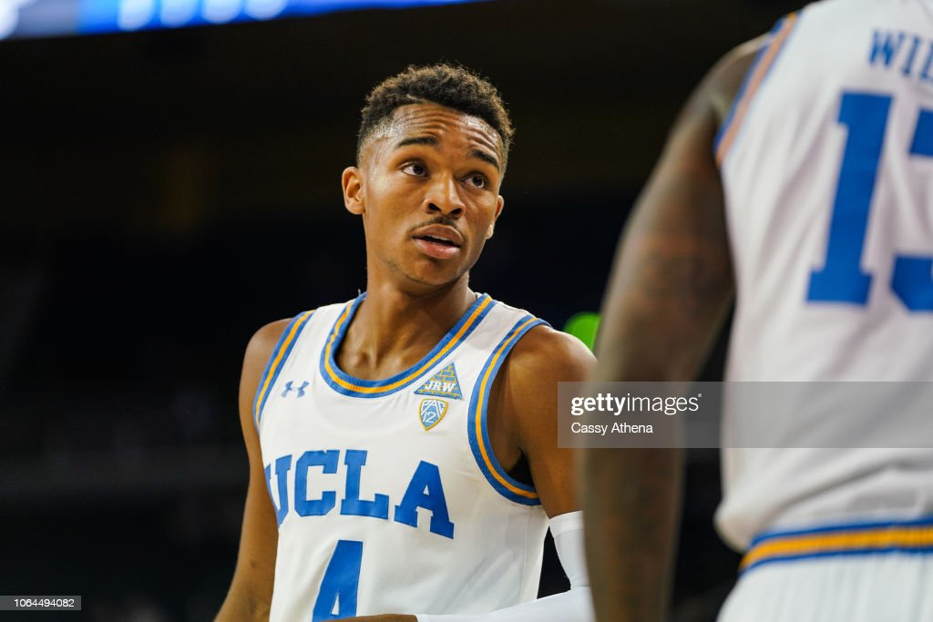 online store 2312d 3357e Jaylen Hands of the UCLA Bruins looks on against the Fort ...