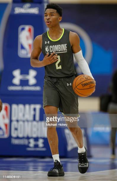 Jaylen Hands of UCLA works out during the 2019 NBA Combine at Quest MultiSport Complex on May 17 2019 in Chicago Illinois NOTE TO USER User expressly...