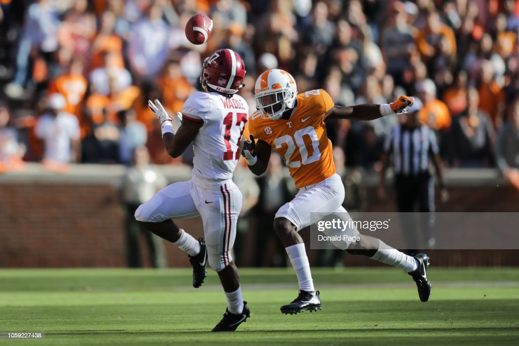 Alabama v Tennessee : News Photo