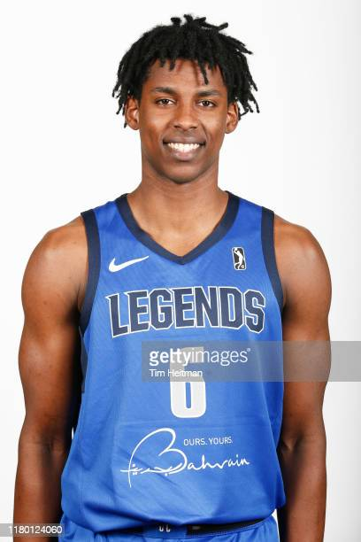 Jaylon Hoard of the Texas Legends poses for a headshot during G League Media Day on November 4 2019 at Comerica Center in Frisco Texas NOTE TO USER...