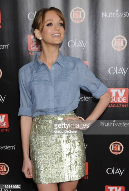 Jayma Mays arrives at TV Guide Magazine's 2010 Hot List Party at Drai's at the W Hollywood Hotel on November 8, 2010 in Hollywood, California.