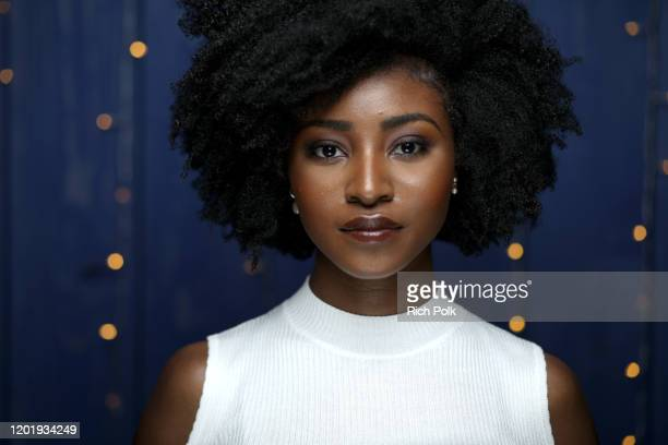 Jayme Lawson of 'Farewell Amor' attends the IMDb Studio at Acura Festival Village on location at the 2020 Sundance Film Festival – Day 2 on January...