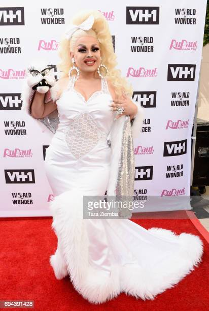 Jaymes Mansfield arrives at 'RuPaul's Drag Race' Season 9 Finale Taping at Alex Theatre on June 9 2017 in Glendale California