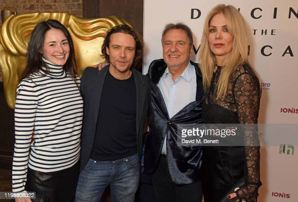 Jaymie Addicott Olivier Blanc Raymond Blanc and Natalia Traxel attend the UK premiere of Dancing At The Vatican hosted by HDdennmore at BAFTA on...