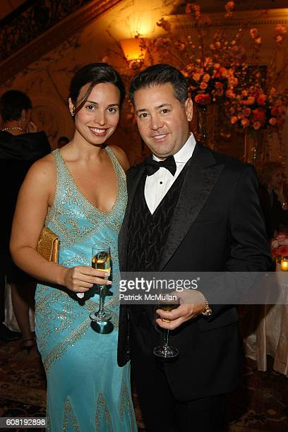 Jaymie Scotto and Rory Cutaia attend STEVEN ANGELA KUMBLE'S Wedding Celebration at Metropolitan Club on April 13 2007 in New York City