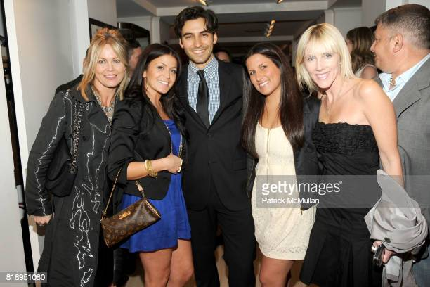 Jayne Abramson Caitlin Decunzo Jason Rogers Kate Schackman and Linda Rizk attend RIGHT TO PLAY 'En Garde' Charity Cocktail Party at Barneys New York...