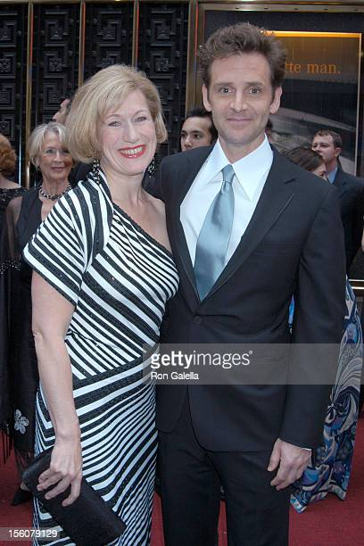 Jayne Atkinson and Malcolm Gets during 2003 Tony Awards at Radio City Music Hall in New York City New York United States