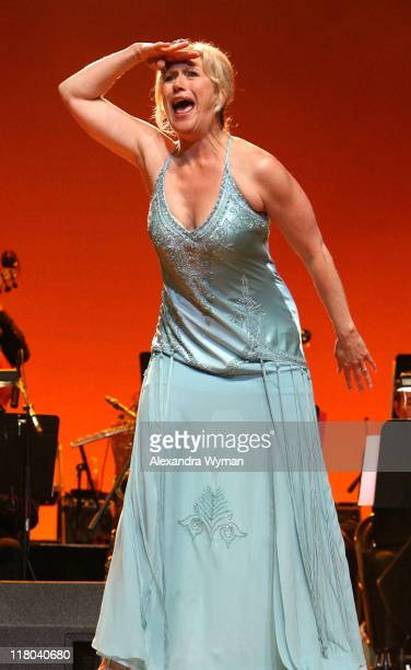Jayne Atkinson during 2007 What a Pair Benefiting the John Wayne Cancer Institute Show at The Orpheum Theatre in Los Angeles California United States