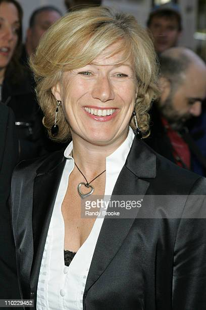 Jayne Atkinson during Glengarry Glen Ross Broadway Opening Night at Royal Theatre in New York City New York United States