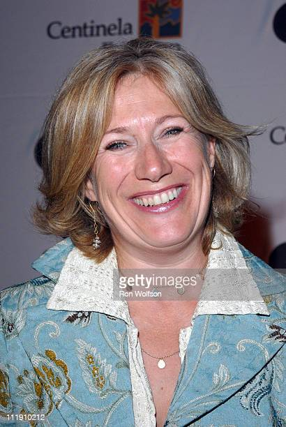 Jayne Atkinson during The Stroke Recovery Center Benefit Honoring Howard Gordon With Honorary CoChair Kiefer Sutherland in Los Angeles CA United...
