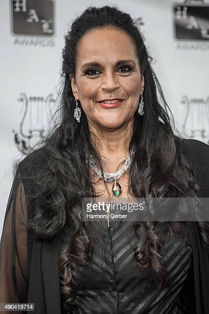 Jayne Kennedy attends the 26th Annual Heroes and Legends Awards at Beverly Hills Hotel on September 27 2015 in Beverly Hills California