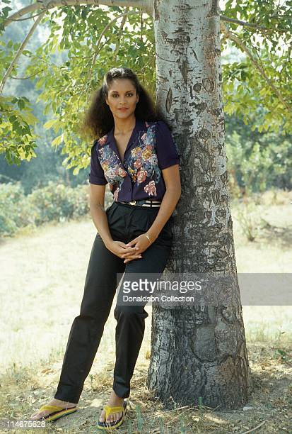 Jayne Kennedy poses for a portrait in circa 1982 in Los Angeles California