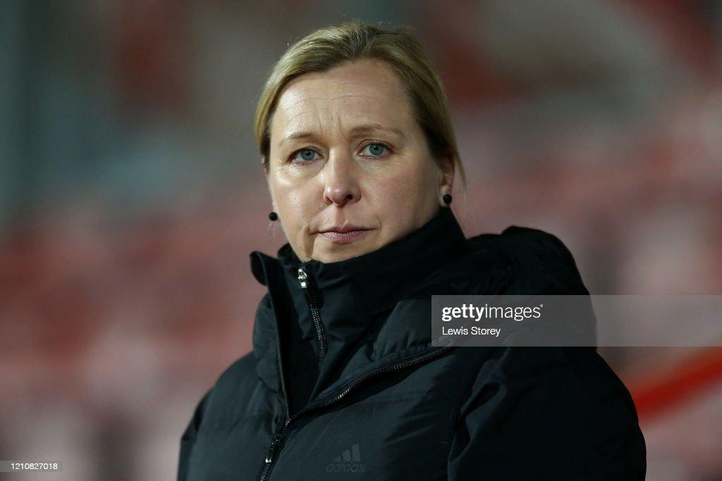 Wales Women v Estonia Women - International Friendly : News Photo