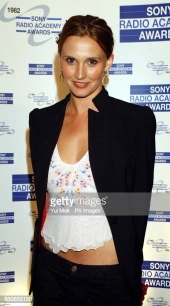 Jayne Middlemiss arriving at the Sony Radio Academy Awards 2002 at the Grosvenor House Hotel in London 04/08/02 Jayne Middlemiss has swapped lager...