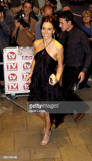 Jayne Middlemiss during 2005 TV Quick TV Choice Awards Arrivals at The Dorchester in London Great Britain