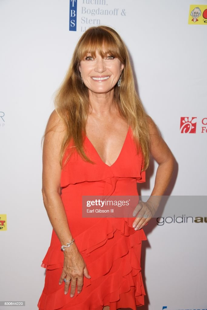 Jayne Seymour attends the Harold & Carole Pump Gala at The Beverly Hilton Hotel on August 11, 2017 in Beverly Hills, California.