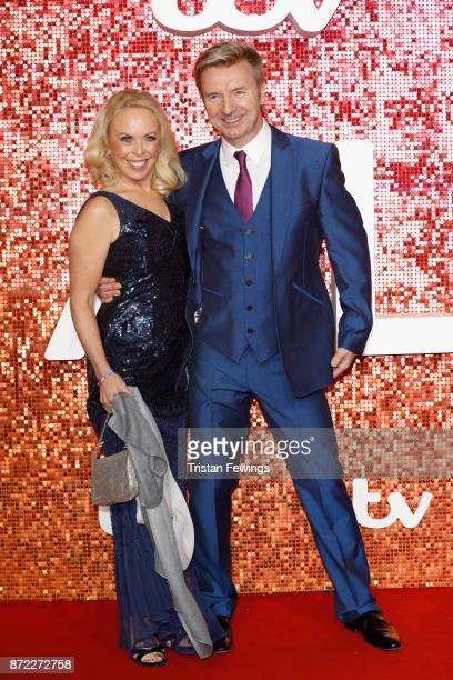 Jayne Torvill and Christopher Dean arriving at the ITV Gala held at the London Palladium on November 9 2017 in London England