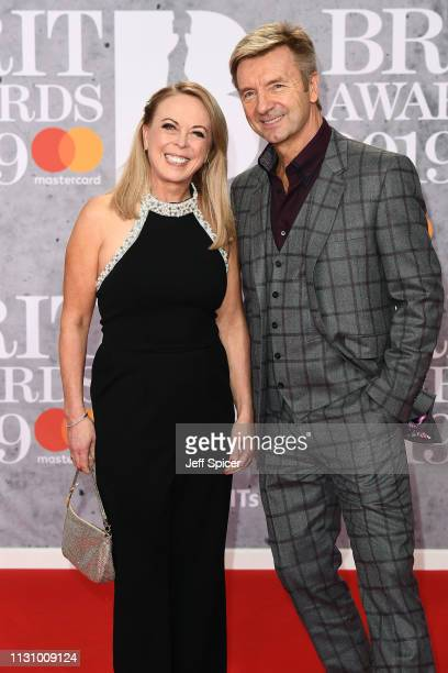 Jayne Torvill and Christopher Dean attend The BRIT Awards 2019 held at The O2 Arena on February 20, 2019 in London, England.