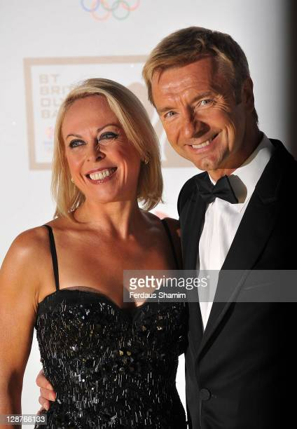 Jayne Torvill and Christopher Dean attend the British Olympic Ball at Olympia Exhibition Centre on October 7 2011 in London England