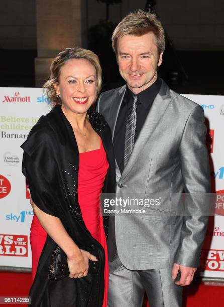 Jayne Torvill and Christopher Dean attend the Children's Champions 2010 awards at The Grosvenor House Hotel on March 3 2010 in London England