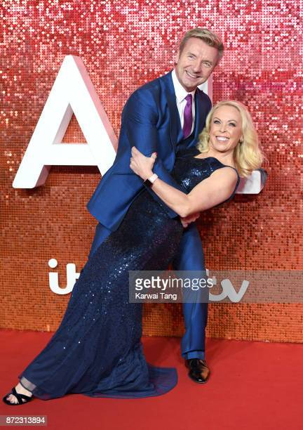 Jayne Torvill and Christopher Dean attend the ITV Gala at the London Palladium on November 9 2017 in London England