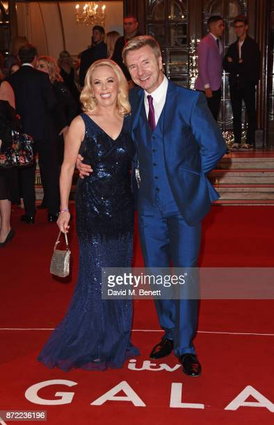 Jayne Torvill and Christopher Dean attend the ITV Gala held at the London Palladium on November 9 2017 in London England