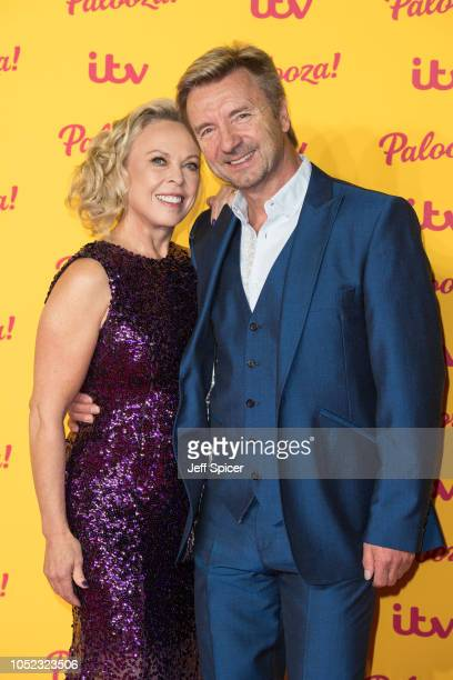 Jayne Torvill and Christopher Dean attend the ITV Palooza! held at The Royal Festival Hall on October 16, 2018 in London, England.