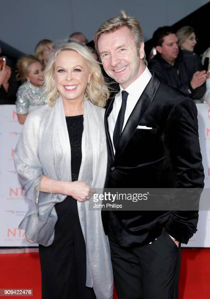 Jayne Torvill and Christopher Dean attend the National Television Awards 2018 at the O2 Arena on January 23 2018 in London England
